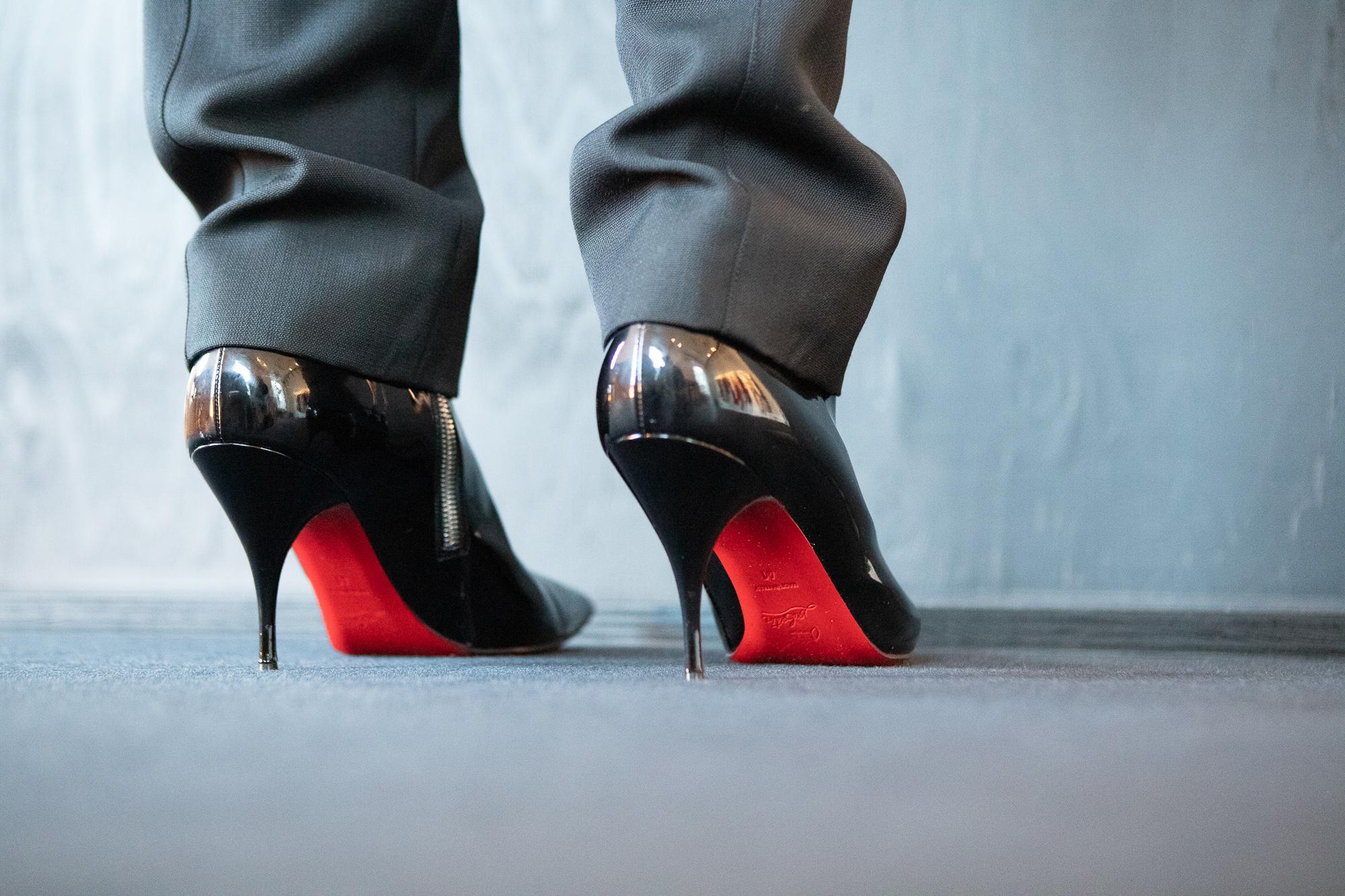 thierry mugler heels paris fashion week